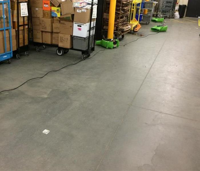 Commercial Water Damage in Lexington, Sc.  After