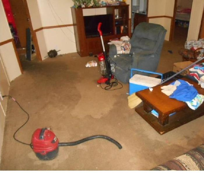 Water Damage in a Lexington, SC. Home