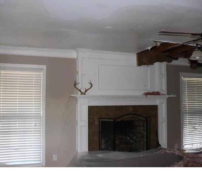 Water Damage in Cayce/ West Columbia, SC.