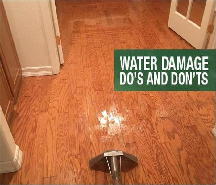 Water Damage Do's and Don't of a Water Damage