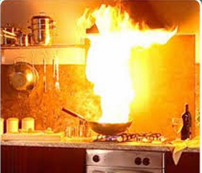 Fire Damage Your Recipe for Cooking Safety