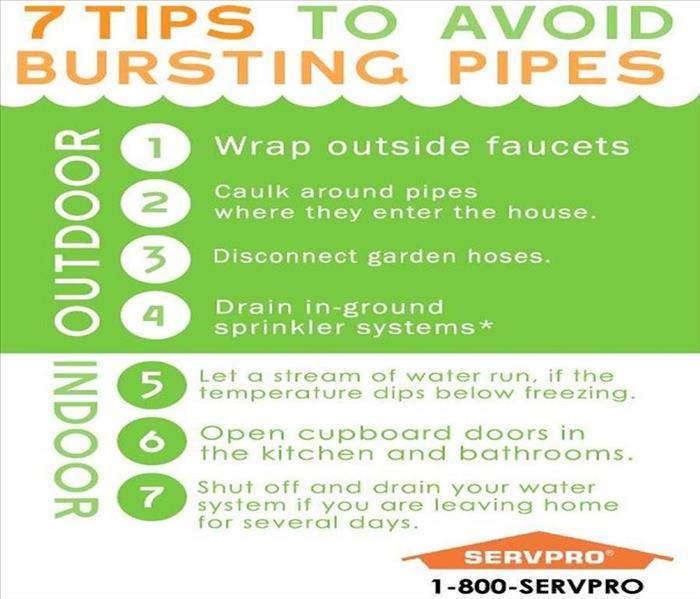 Water Damage 7 Tips to Avoid Bursting Pipes