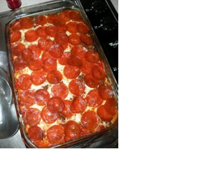 Community Pizza Casserole