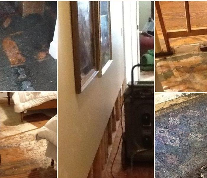 Storm Damage Home damaged after frozen pipes in Lexington County, SC