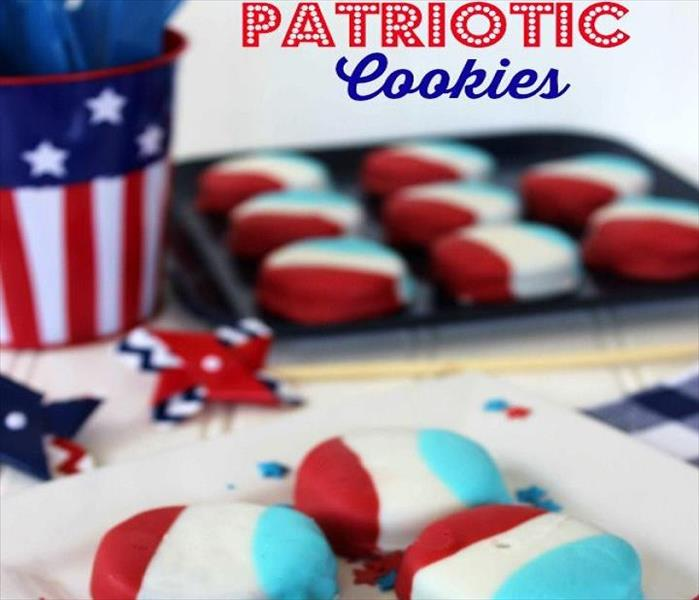 Community Patriotic Dipped Oreo Cookies